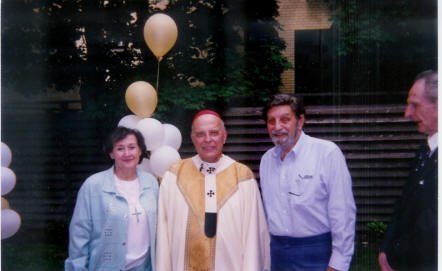Carol and Serf with Cardinal George