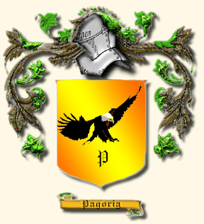 The Pagoria Family Crest