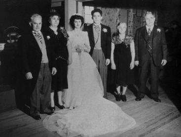 Joseph's and Rose's wedding (1948)