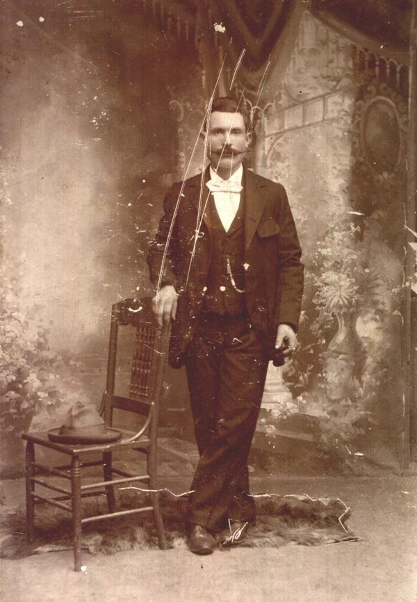 A young Biaggio.  Probably taken in the late 1890s